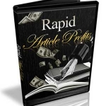 Rapid Article Profits MRR Video Series