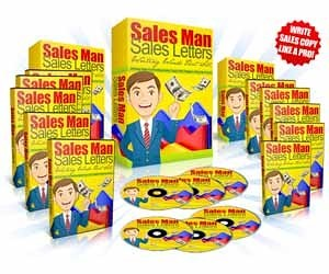 Sales Man Sales Letters MRR eBook and Video Series