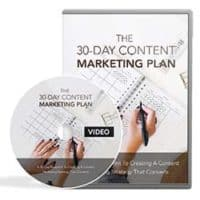 30 day Content Marketing Plan MRR